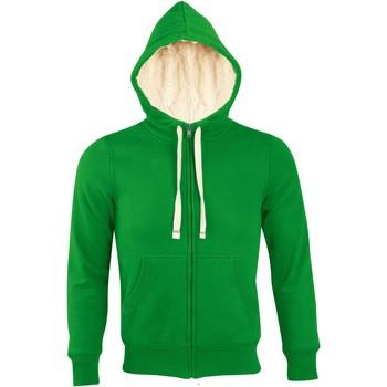 Textil Muži Mikiny Sols SHERPA WINTER MEN Verde