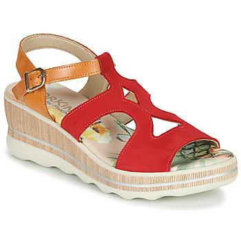 Boty Ženy Sandály Dorking YAP Červená