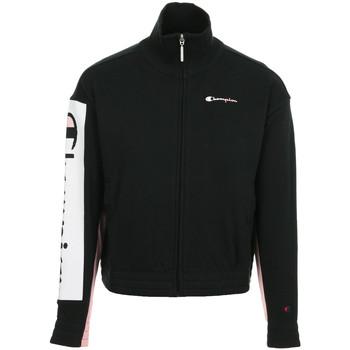 Textil Ženy Teplákové bundy Champion Full Zip Sweatshirt Wn's Černá