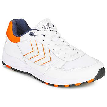 Boty Muži Nízké tenisky Hummel 3-S SPORT Bílá / Oranžová