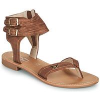 Boty Ženy Sandály Les Petites Bombes CAMEL Velbloudí hnědá
