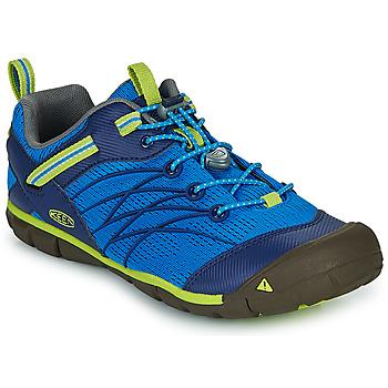Boty Chlapecké Sportovní sandály Keen CHANDLER CNX Modrá / Zelená