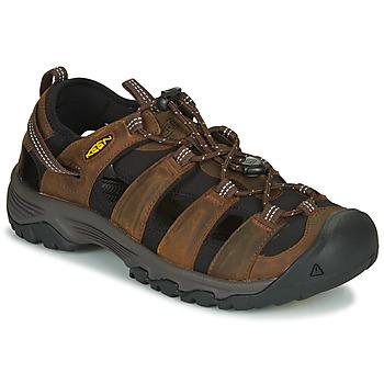 Boty Muži Sportovní sandály Keen TARGHEE III SANDAL Hnědá