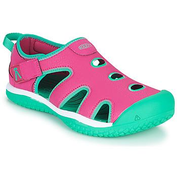 Boty Dívčí Sportovní sandály Keen STINGRAY Fialová / Modrá