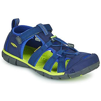 Boty Děti Sportovní sandály Keen SEACAMP II CNX Modrá / Zelená