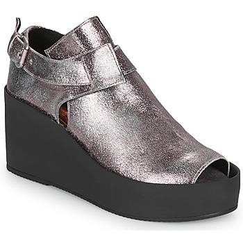 Boty Ženy Sandály Papucei ANTONINA Stříbrná