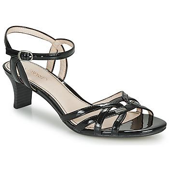 Boty Ženy Sandály Esprit BIRKIN SANDAL Černá