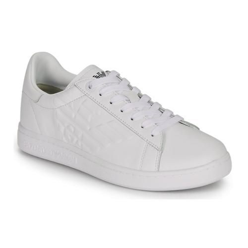 Boty Nízké tenisky Emporio Armani EA7 CLASSIC NEW CC Bílá