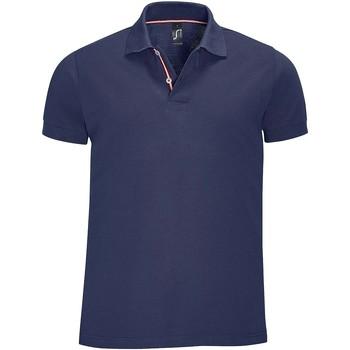 Textil Muži Polo s krátkými rukávy Sols PATRIOT FASHION MEN Azul