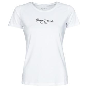 Textil Ženy Trička s krátkým rukávem Pepe jeans NEW VIRGINIA Bílá