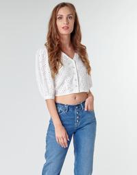 Textil Ženy Halenky / Blůzy Pepe jeans CLAUDIE Bílá