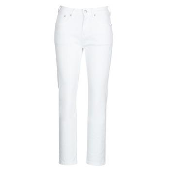 Textil Ženy Rifle rovné Pepe jeans MARY Bílá