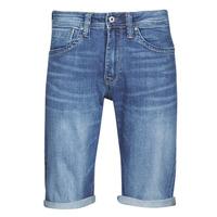 Textil Muži Kraťasy / Bermudy Pepe jeans CASH Modrá