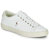 Boty Muži Nízké tenisky Polo Ralph Lauren LONGWOOD-SNEAKERS-VULC Bílá