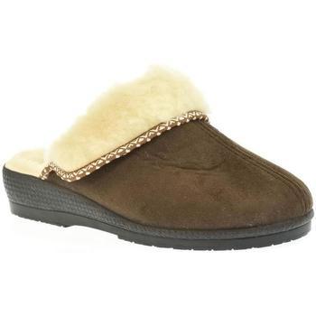 Boty Ženy Papuče Mjartan Dámske papuče  ZORA 4 hnedá