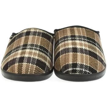 Boty Muži Papuče Mjartan Pánske papuče  DAMIÁN 3 hnedá