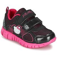 Boty Dívčí Nízké tenisky Hello Kitty BASEMO PHYL Černá