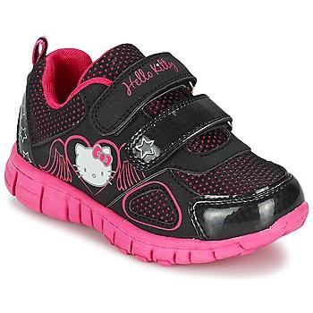 Hello Kitty Tenisky Dětské BASEMO PHYL - Černá