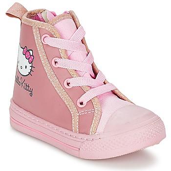 Boty Dívčí Kotníkové tenisky Hello Kitty TANSIOUR Růžová