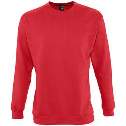 Textil Mikiny Sols NEW SUPREME COLORS DAY Rojo