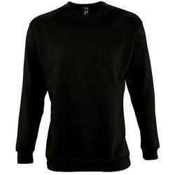 Textil Mikiny Sols NEW SUPREME COLORS DAY Negro