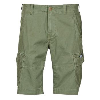 Textil Muži Kraťasy / Bermudy Superdry CORE CARGO SHORTS Zelená
