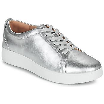 Boty Ženy Nízké tenisky FitFlop RALLY SNEAKERS Stříbrná
