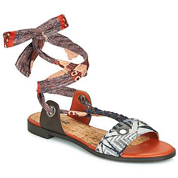 Boty Ženy Sandály Desigual JUNGLE AFRICA Tmavě modrá / Bílá