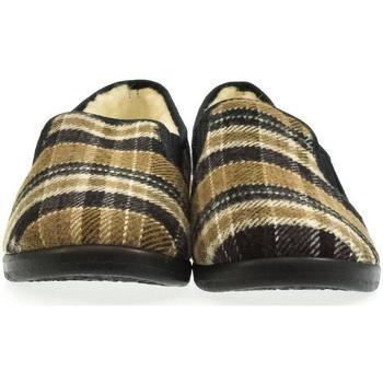 Boty Muži Papuče Mjartan Pánske papuče  ALEXEJ 3 hnedá