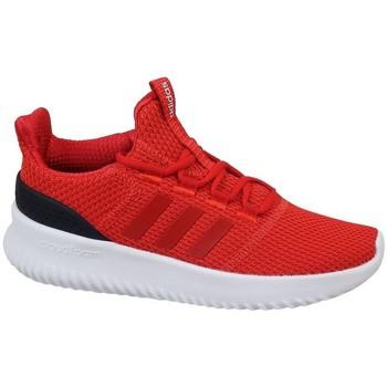 Boty Děti Nízké tenisky adidas Originals Cloudfoam Ultimate Červená