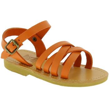Boty Dívčí Sandály Attica Sandals HEBE CALF ORANGE arancio