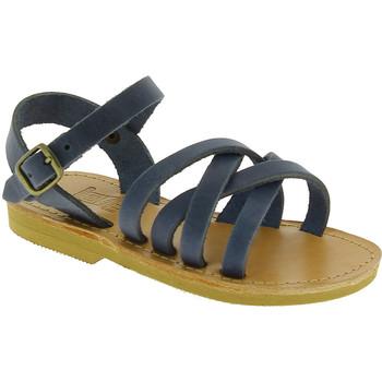 Boty Muži Sandály Attica Sandals HEBE NUBUK BLUE blu