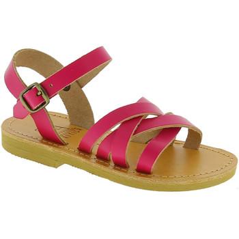 Boty Dívčí Sandály Attica Sandals HEBE CALF FUXIA Fucsia