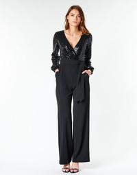Textil Ženy Overaly / Kalhoty s laclem Lauren Ralph Lauren Alexis Černá