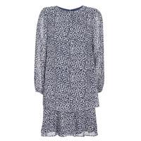 Textil Ženy Krátké šaty Lauren Ralph Lauren Alois Tmavě modrá / Bílá
