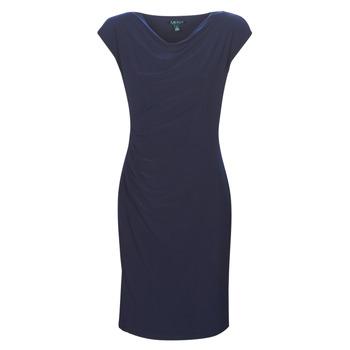 Textil Ženy Krátké šaty Lauren Ralph Lauren Ancelin Tmavě modrá