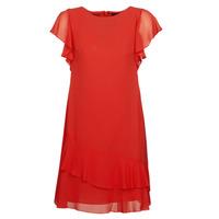 Textil Ženy Krátké šaty Lauren Ralph Lauren Arolde Červená