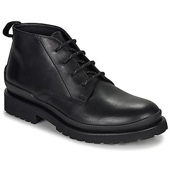 Boty Muži Kotníkové boty HUGO SCOUT DESB IT Černá