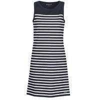 Textil Ženy Krátké šaty Armor Lux YITINE Tmavě modrá / Bílá
