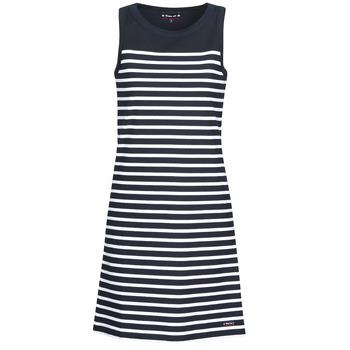 Textil Ženy Krátké šaty Armor Lux  Tmavě modrá / Bílá