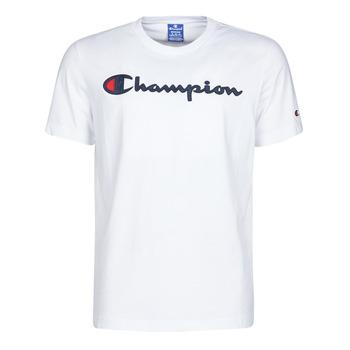 Textil Muži Trička s krátkým rukávem Champion 214194 Bílá