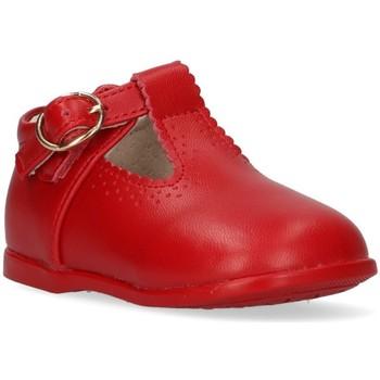 Boty Dívčí Šněrovací polobotky  & Šněrovací společenská obuv Bubble 44078 Červená