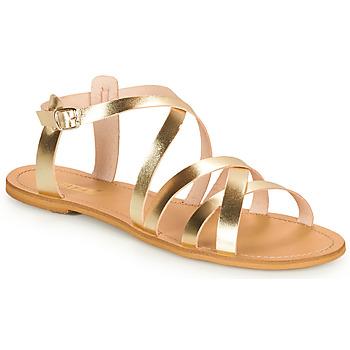 Boty Ženy Sandály So Size IDITRON Zlatá