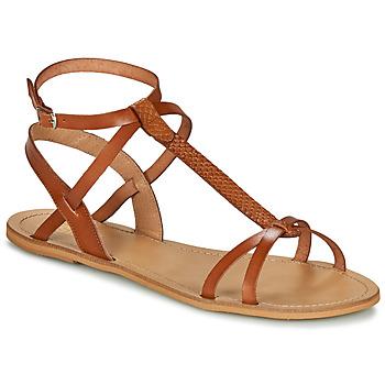 Boty Ženy Sandály So Size BEALO Velbloudí hnědá