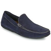 Boty Muži Mokasíny So Size MIJI Tmavě modrá
