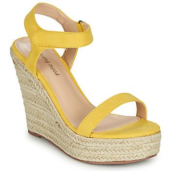 Boty Ženy Sandály Moony Mood MARTA Žlutá