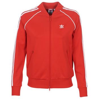 Textil Ženy Teplákové bundy adidas Originals SS TT Červená