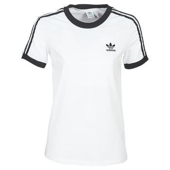 Textil Ženy Trička s krátkým rukávem adidas Originals 3 STR TEE Bílá