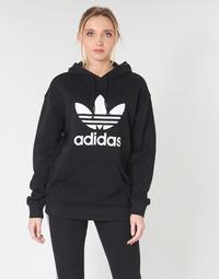 Textil Ženy Mikiny adidas Originals TRF HOODIE Černá