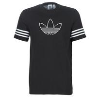 Textil Muži Trička s krátkým rukávem adidas Originals OUTLINE TEE Černá